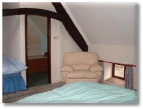 The holiday cottages master bedroom