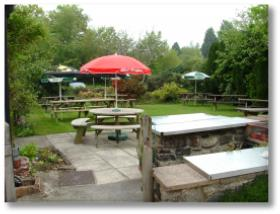 Our child friendly beer garden